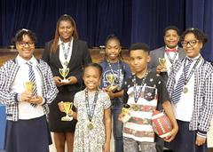 TOP READERS COMPETE AT DISTRICT, REGIONAL FAIRS