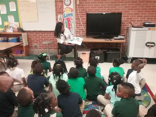 Author Tiffany Coleman-McGee Visits Clausell