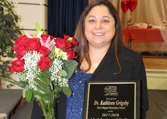 Grigsby Named JPS Administrator of the Year