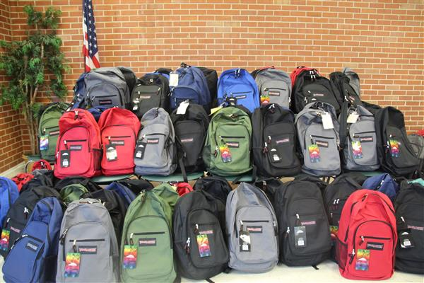 Backpack Buddies Get School Year Off to a Great Start for Scholars