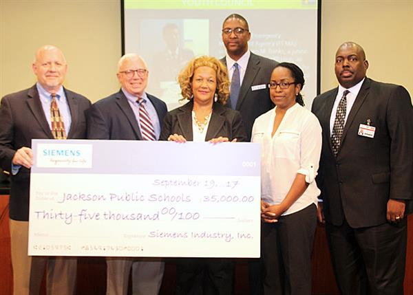 Siemens Makes $35,000 Donation