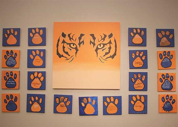 Tiger Paws–Tiger Eyes in Our Community