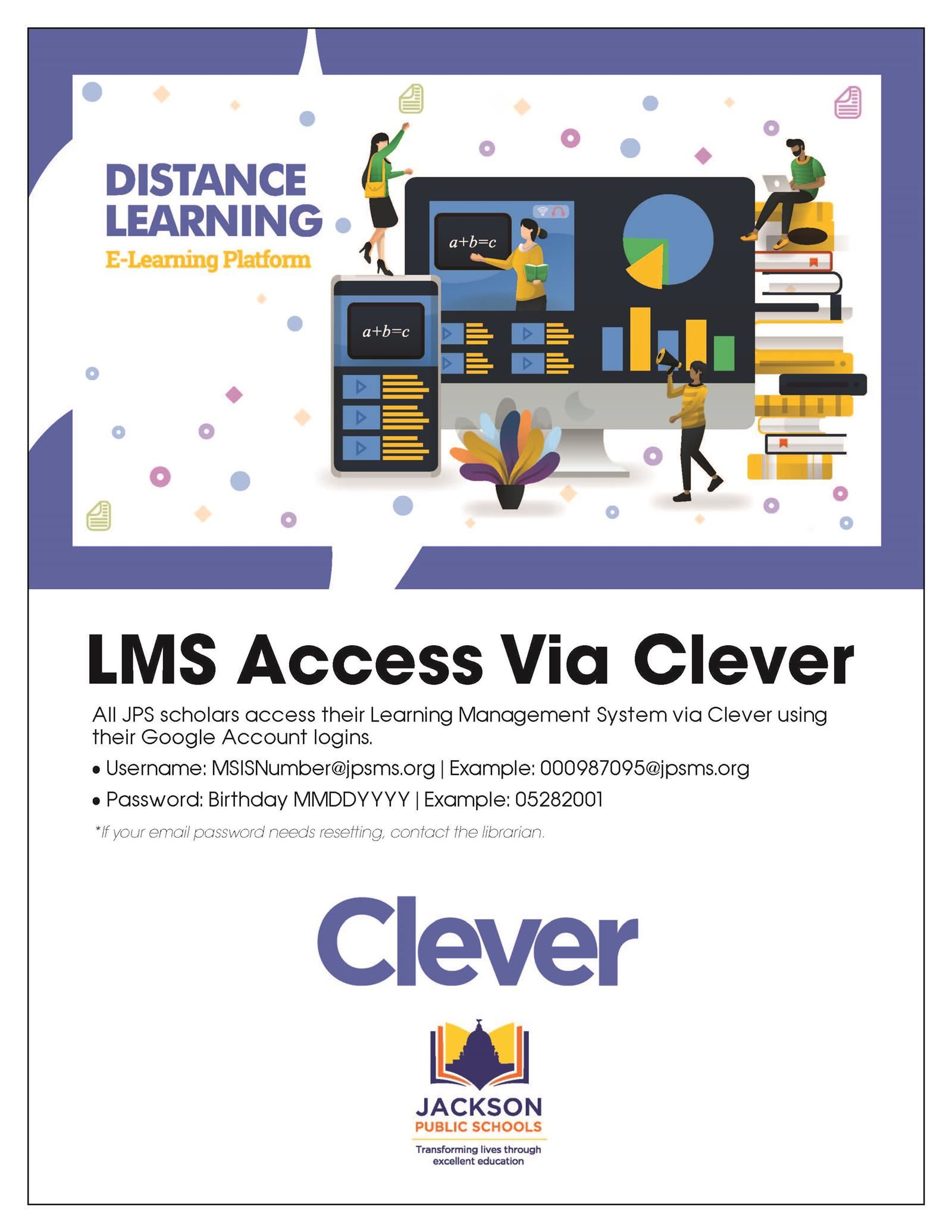 LMS Access Via Clever