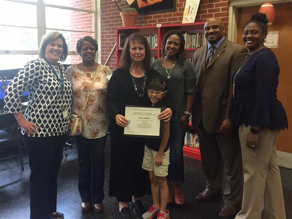 Ms. Latham Named Outstanding Educator
