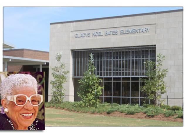 Gladys Noel Bates and Bates Elementary