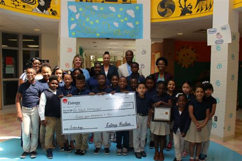 Entergy Makes $25,000 Donation to Van Winkle Elementary