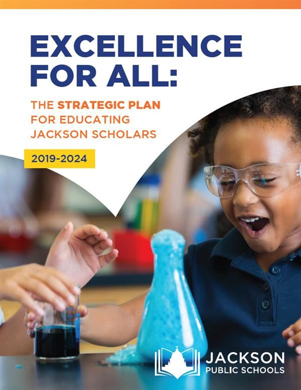 Download the Excellence For All: Strategic Plan (PDF)