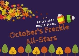 October Freckle All Stars