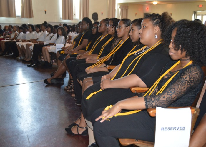 Students get inducted into National Junior Honor Society