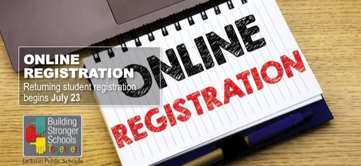 Online Registration for the 2018-2019 School Year