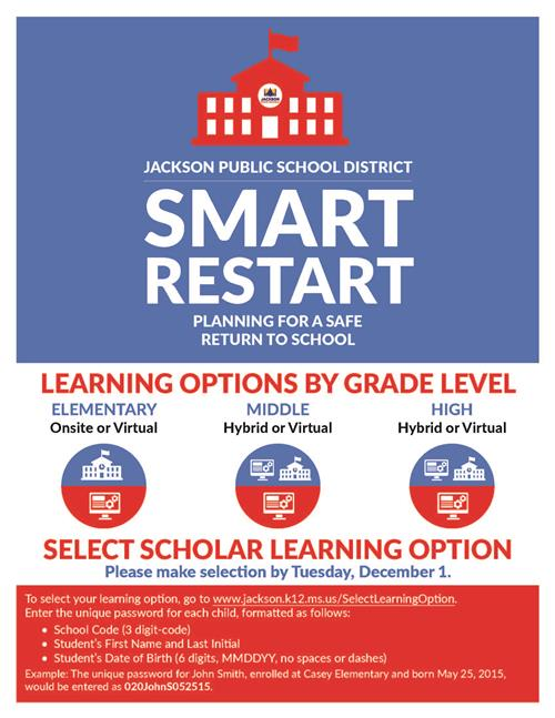 Smart Restart Learning Options