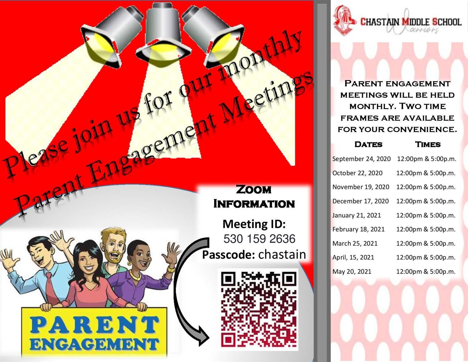 Parent Engagement Meetings