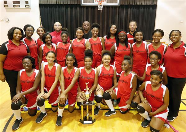 CHASTAIN WINS MIDDLE SCHOOL VOLLEYBALL CHAMPIONSHIP