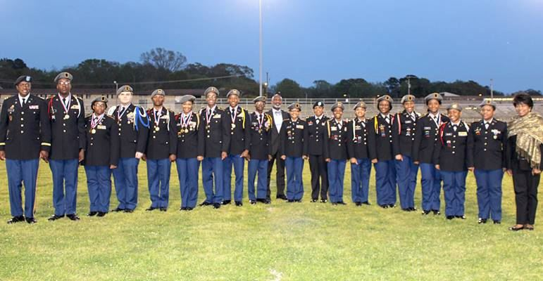 FHHS Patriot JROTC Participate in 32nd Annual Cadet Pass and Review
