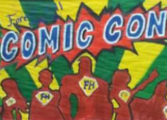 Comic Con Art Awards Presented at Schools' Award Ceremonies