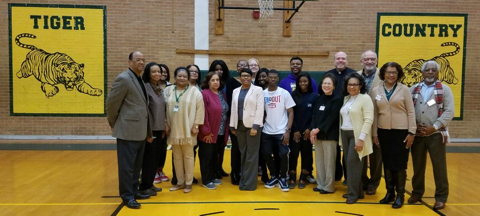 St. Marks Adopts Jim Hill High School