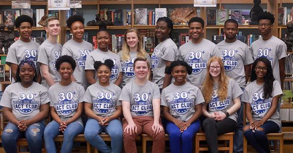 Although six seniors from last year have graduated, the 30 Plus Club at Murrah High School has grown