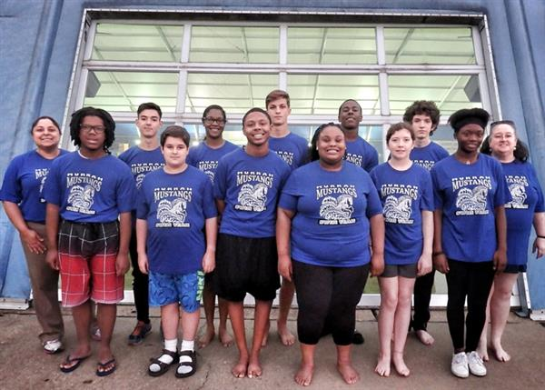 Murrah swim team