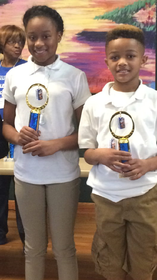 2nd and 3rd place at JPS Scrabble Tournament