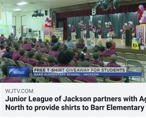 Junior League of Jackson gives back to Barr