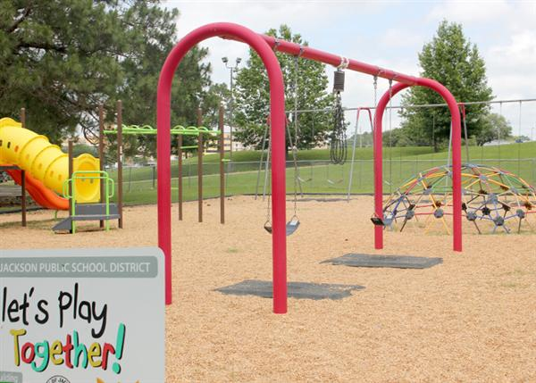 playground swing monkey bars