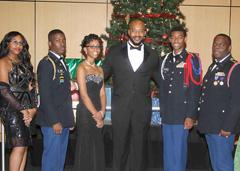 Andre Heath and Cadet Battalion Commanders