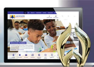 JPS Receives the 2020 WebAward for School Standard of Excellence
