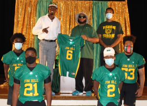 Jim Hill Alum and NFL Star Gives Back to His Alma Mater