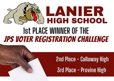 JPS High Schools Compete in Voter Registration Challenge