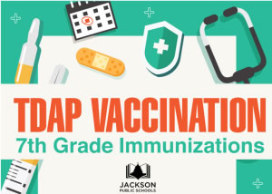 Tdap Vaccination Required for JPS 7th Graders