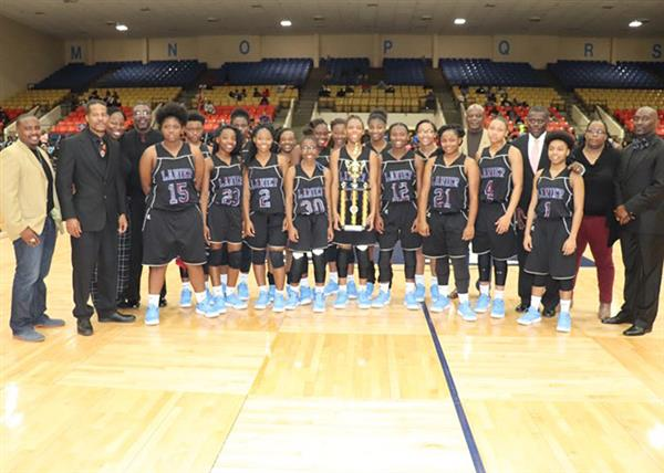 Lanier girls basketball team