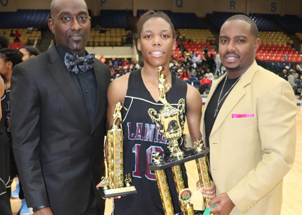 Jonas James, Keshuna Luckett, Terrance Robinson