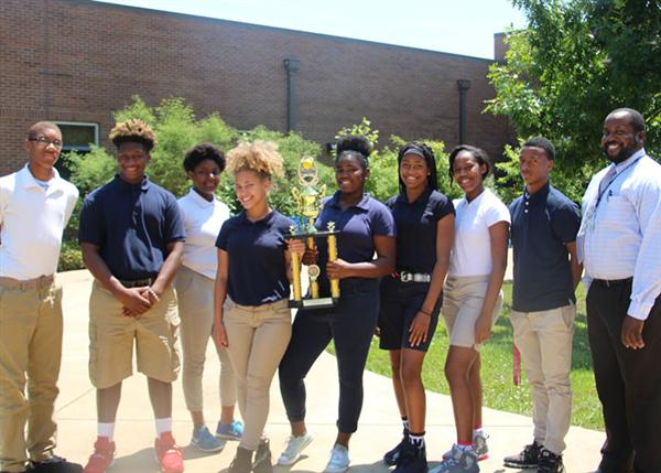 Cardozo Middle School tennis team