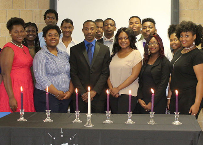 National Technical Honor Society members