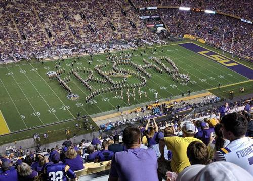 band field formation spells F-R-E-S-H-!