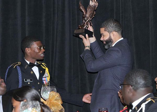 Ruben Banks and Mayor Lumumba