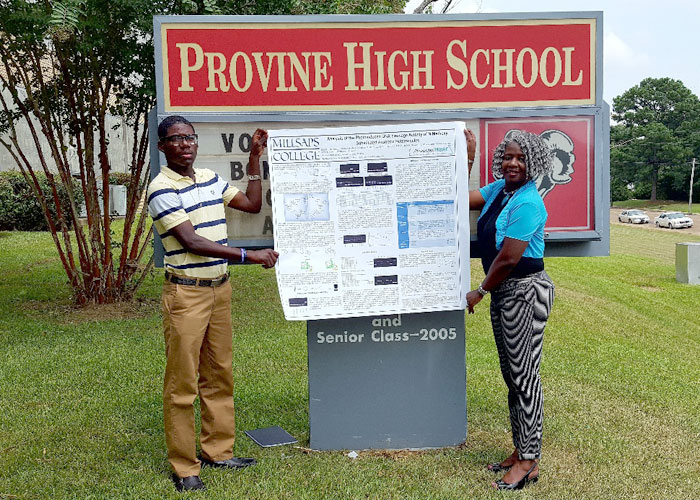 Provine Junior Presents Cancer Research at 2018 Mississippi IDeA Conference
