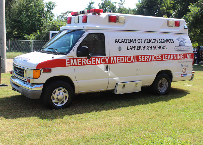 Emergency Medical Services Laboratory ambulance