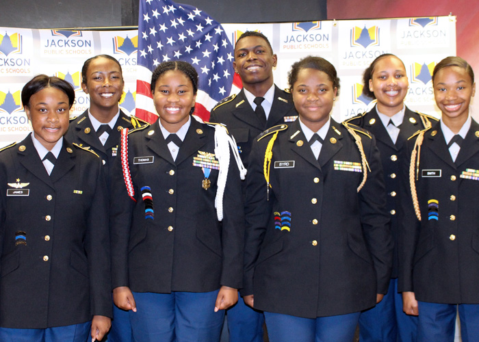 JROTC cadet officers selected for leadership conference