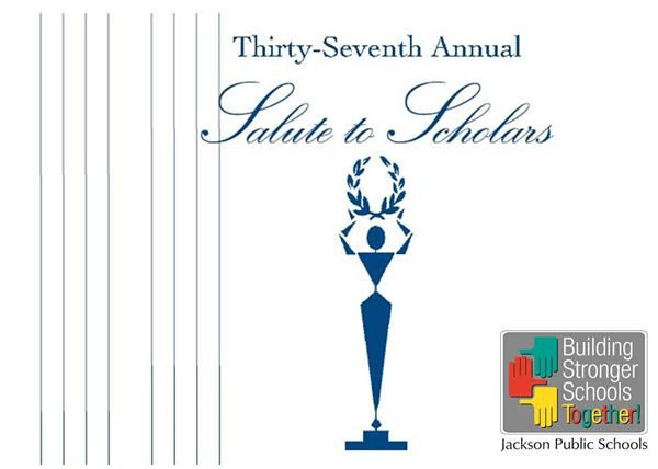 37th Annual Salute to Scholars - Salute to Scholars trophy logo