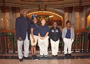 Sen. John Horn and Smith students
