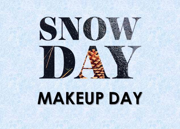 Snow Day Makeup Day