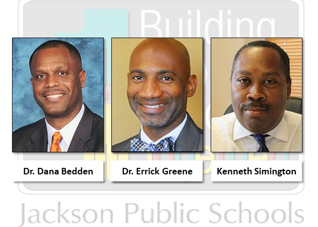 Dr. Dana Bedden, Dr. Errick Greene, and Dr. Kenneth Simington