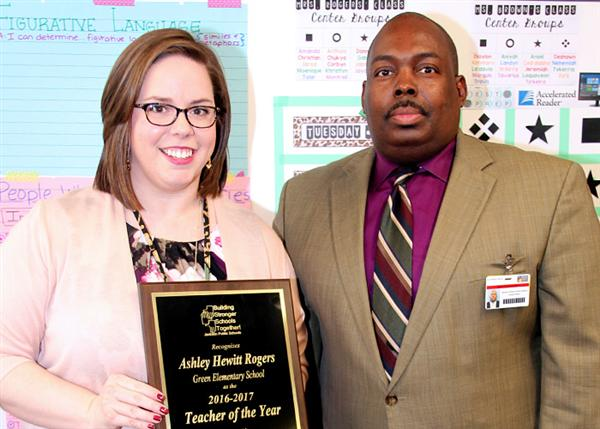 Ashley Hewitt Rogers and Dr. Freddrick Murray