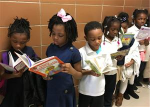 1st graders reading