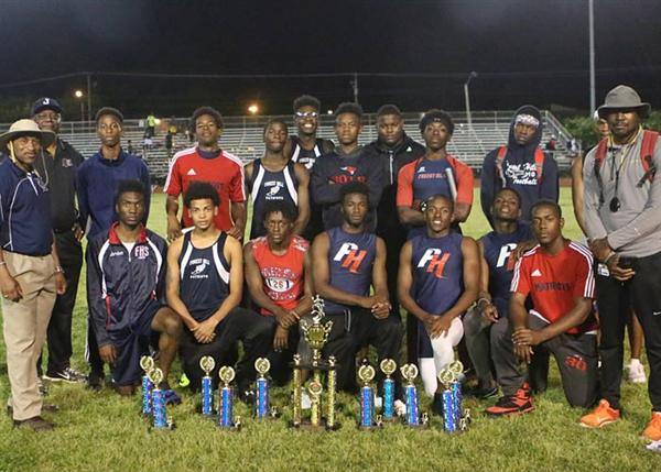 Forest Hill Patriots boys track team and Athletics administrators