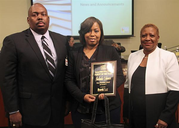 Supt., Parent of the Year, Board President